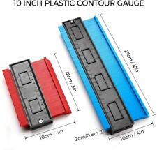 "2 Pieces Contour Guage 5"" and 10"" Plastic Profile Gauge Shape Duplicator"