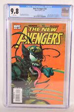 New Avengers 35 Marvel 2007 CGC 9.8 Wolverine Venomized Venom Symbiote