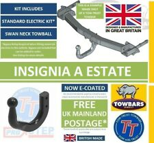 Swan Neck Towbar for Vauxhall Insignia A Estate Sports Tourier 2008 to 2017
