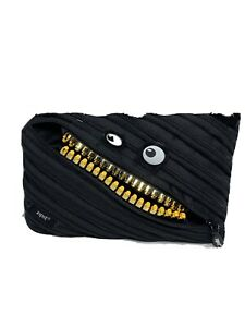 ZIPIT Grillz 3-Ring Pencil Case New With Tags A8