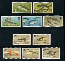 Sports Fish & Fishing Lures Stamp Collection