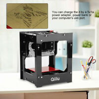 HighQ Qiilu DK-BL1500mw Mini USB Laser Engraver Carver Engraving Cutting Machine