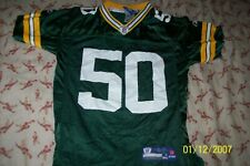 Reebok Youth Medium A.J. Hawk Green Bay Packers #50 Jersey
