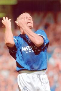 Job lot Glasgow Rangers legends 12x8 inch photos. Gascoigne, Papac, Walters etc.