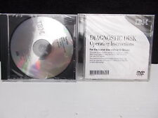 IBM Test Disc + Diagnostic Disc DVD zur Diagnose v. CD u. DVD Laufwerken