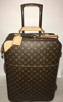 Louis Vuitton Pegase Carry on Classic Suitcase w/ Garment bag 🇫🇷 💯% Authentic
