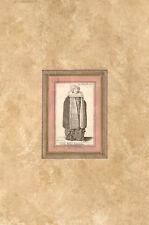 NOBILIS MULIER BOHEMICA- Costume - HOLLAR WENZEL - Incisione Originale 1649