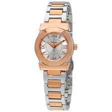 Ferragamo Vega Silver Dial Ladies Two Tone Watch FI5030013