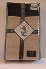 WATERFORD Linens 1 EURO SHAM Rosemarie Cocoa Bedding Decorative