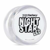 Yoyo Factory Night Star Led Light Up Yoyo High Speed Bearing Beginners Game Toy