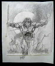 SALE 25% Tim Vigil Original Art B264 Conan Faust