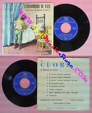 LP 45 7'' EDMONDO DE AMICIS Cuore L'infermiere di tata C.E.B 5 no cd mc
