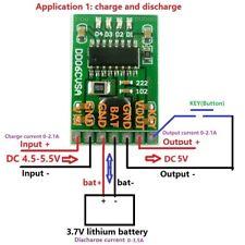 5V 2.1A Charge Discharge boost Power Module 3.7V 4.2V li-ion 18650 LED battery