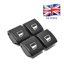 4x for BMW 3 E46 01-05 Electric Window Regulator Control Switch Button Cover D03
