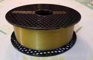 Prusa PETG Filament 1.75 mm - Roll Weight 2 Lb & 11 Oz - Yellow Gold
