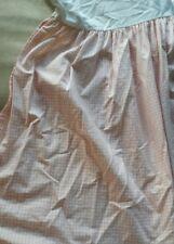 Ralph Lauren Queen pink gingham bedskirt Excellent Condition
