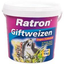 Frunol Ratron Giftweizen 1 kg gegen Wühlmäuse Feldmäuse Wühlmausgift Schermäuse