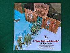 IL GRAN TEATRO DEI BURATTINI DI PINOCCHIO (2002) Libro animato Film Benigni