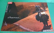 APRILIA DEPLIANT CAPONORD ETV 1000 MOTO BROCHURE FOLDER CATOLOGUE PROSPEKT