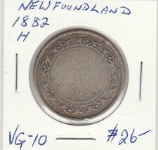 Newfoundland 1882H 50 Cents