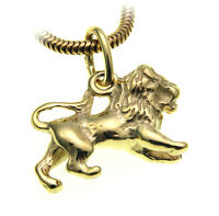 Anhänger Sternzeichen Löwe echt Gold 333 massiv 8kt Tierkreiszeichen klein