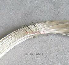 5FT STERLING SILVER Round WIRE 26GA Dead SOFT 26 gauge