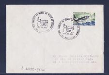 ec72/ Enveloppe   championnat du monde de peche au saumon  Navarrenx     1972