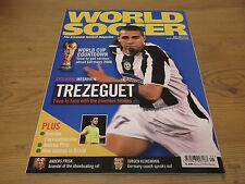 Football Magazine World Soccer May 2005 Trezeguet World Cup Countdown Klinsmann