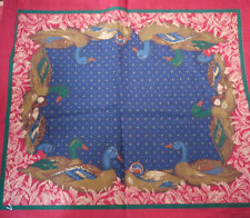 Vintage Joan KESSLER Wood Ducks Print Cutter Quilting Concord Fabric Piece 25x45