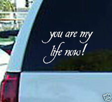 you are my life twilight window sticker decal vinyl