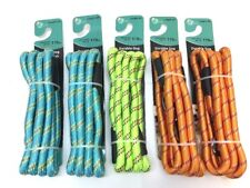 LOT of 5 - Pet Trends - 6' Braided Nylon Dog Leash - Up to 110 Lbs. Mixed Colors