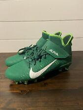Nike Alpha Menace Pro 2 Mid Football Cleats Size 11.5