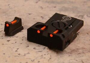CZ 75 , CZ 85, CZ 75 B Omega Adjustable Rear Sight Set with Fiber Optic