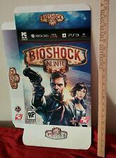 Bioshock Infinite Teaser Box Marketing Display