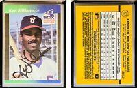 Ken Williams Signed 1989 Donruss #337 Card Chicago White Sox Auto Autograph
