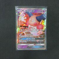 Mr. Mime GX 56/168 ULTRA RARE Holo Celestial Storm Pokemon Card TCG