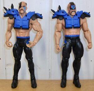 WWE - Hawk & Animal - Legion of Doom - Mattel - wrestling figures -