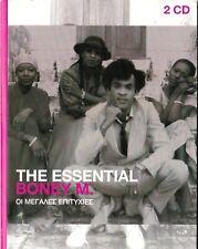 THE ESSENTIAL BONEY M. (CD, 2015, 2-Disc Set, Promo, SONY MUSIC)