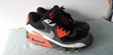 Nike Air Max 90 Infra Red Reverse Trainers Size 7 Scally Gay Interest Used