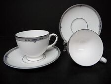 Wedgwood China Amherst Cups and Saucers  (set of 2) ..