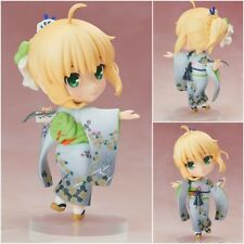 Fate saber kimono Pvc figure figures doll dolls figurine gift 10cm new