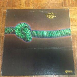 SUN RA & his Astro Infinity Arkestra PATHWAYS TO UNKNOWN WORLDS LP ASD-9298 VG