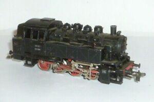 Vieux Märklin Locomotive 3031 à Vapeur Échelle H0 Modellbahn Chemin 81004 RAR