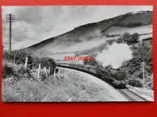 PHOTO  GWR LOCOS NOS 5386 AND 78XX ON CAMBRIAN COAST 23/8/58