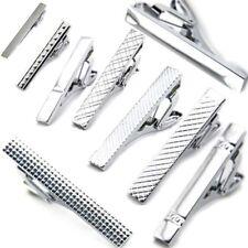 Gentleman Metal Silver  Simple Necktie Tie Clip Bar Clasp Clip Clamp Pin USA