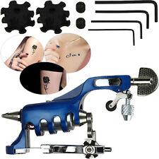 NEW Alloy Professional Rotary Motor Tattoo Machine Gun Liner Shader Blue