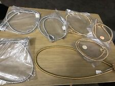 Vintage Beau Vieau Agate Jewlery Lapidary Supplies 4 Gold & 3 Silver Necklaces