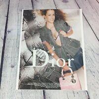2004 Dior Clothing Genuine Magazine Advertisement Print Ad / Women's Fashions