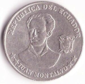 5 Centavos 2000 Ecuador Coin KM#105 - Juan Montalvo