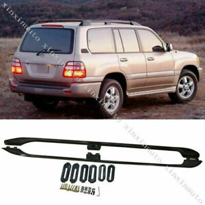 Fit For Toyota Land Cruiser LC/FJ100 1998-07 Factory Style Roof Rails Rack Black